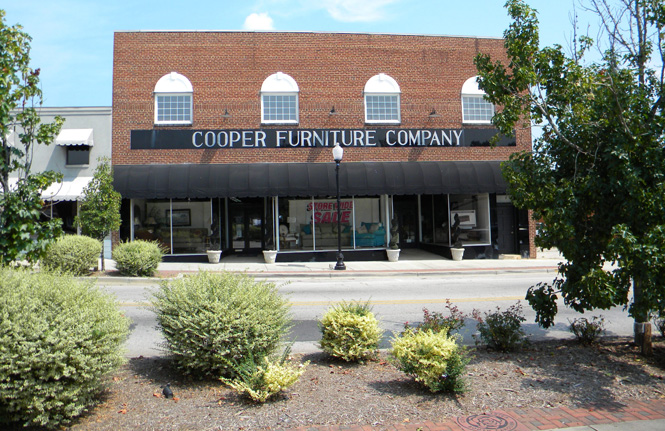 Cooper Furniture - Store Front